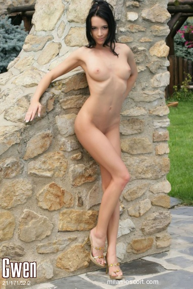 Gwen, Russian escort in Milan who offers company