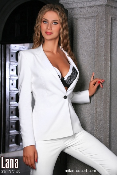 Lana, Russian escort in Milan who offers oral job
