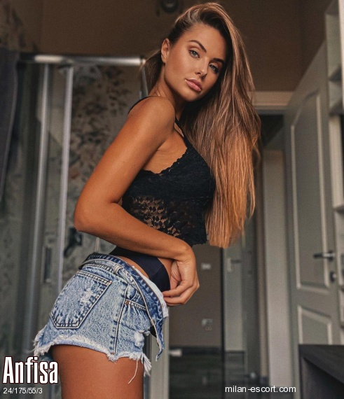 Anfisa, Russian escort in Milan who offers company